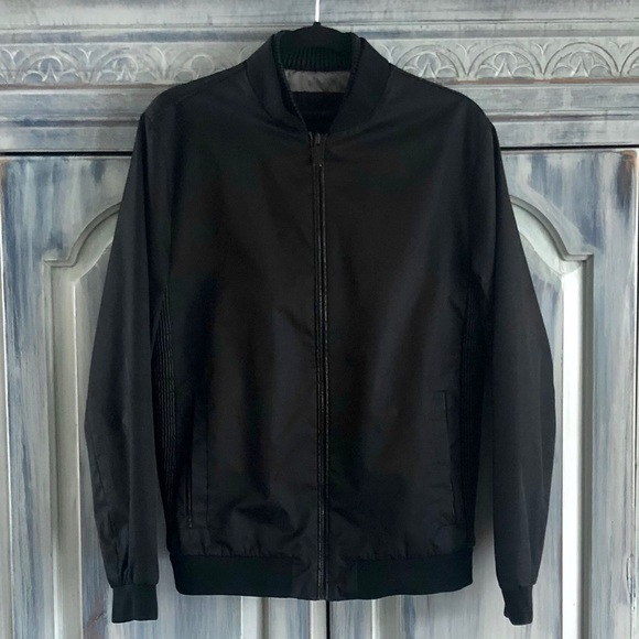 Calvin Klein Mens Bomber Jacket